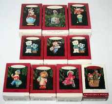 10 Vintage Hallmark Christmas Ornaments 1994 Dad Daughter Teacher Coach ... - $9.95