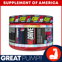 "PS NO3 Drive GREAT PUMP PRE-WORKOUT ""FREE SHIPPING"" - $18.79"