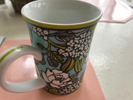 VERA BRADLEY ISLAND BLOOMS COFFEE Tea CUP MUG 8 OZ, VERY RARE RETIRED FL... - $14.84