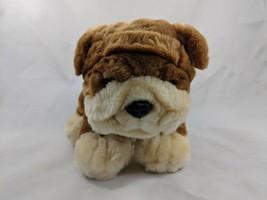 """Lillian Vernon Bulldog Dog Plush Puppy 6"""" 019561 Stuffed Animal toy - $10.95"""