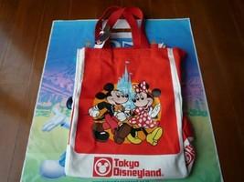 Tokyo Disneyland 25th tote bag eco bag Mickey Minnie history retro TDR TDL TDS - $377.83
