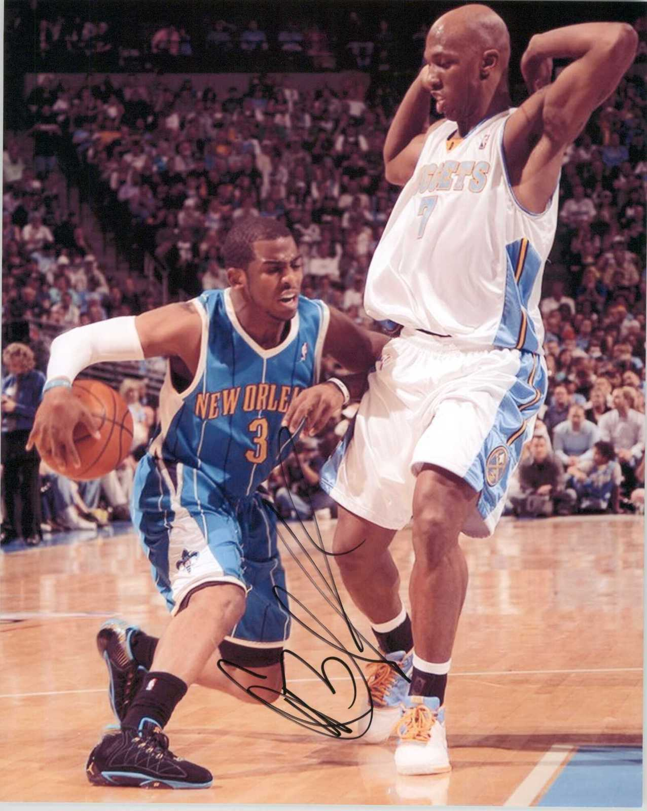 Primary image for Chris Paul Signed Autographed Glossy 8x10 Photo - New Orleans Hornets