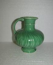 Cameron Clay Products /Cronin Pottery Sevilla carafe Green - $17.10