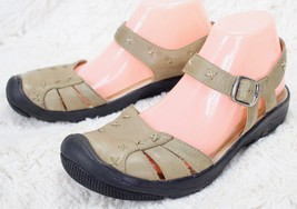 KEEN Paulina Mary Jane Leather Ankle Strap Sandals Outdoor Shoes Women's Size 8 - $41.58