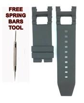 Compatible Invicta SUBAQUA NOMA III 1577 28mm Black Rubber Watch Strap I... - $29.25