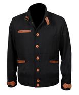 Yellowstone Black Denim Richards Colby Vintage Casual Motorcycle Biker J... - $85.00