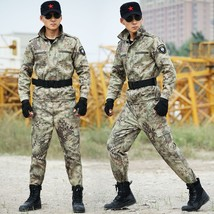 Outdoors Tactical Military Suits Jacket& Pants Special Camouflage Huntin... - $49.26