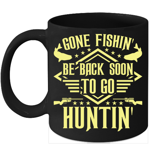 Primary image for Hunting And Fishing Mugs Hunting Lover Gifts