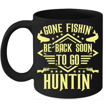 Hunting And Fishing Mugs Hunting Lover Gifts - $15.95