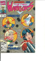 New Warriors #35 - Marvel Comics - May 1993 - Cardinal Targeted for Trou... - $5.49