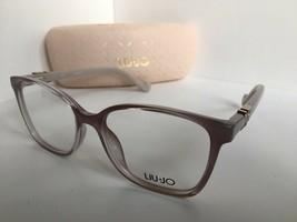 New LIU JO LJ 2620 LJ2620 651 Opal Clear 52mm Rx Women's Eyeglasses Frame  - $99.99