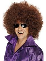 Bushy Brown Afro Wig, Afro Wig. Mega Huge 1970's Disco, Fancy Dress  - $8.50