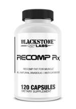 Blackstone Labs Recomp Rx 120 Caps All Natural Fat For Muscle Supplement... - $42.06