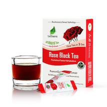 Premium 100% Natural Rose Black Tea Extract Sugar Free (10 Sachests) - $10.84