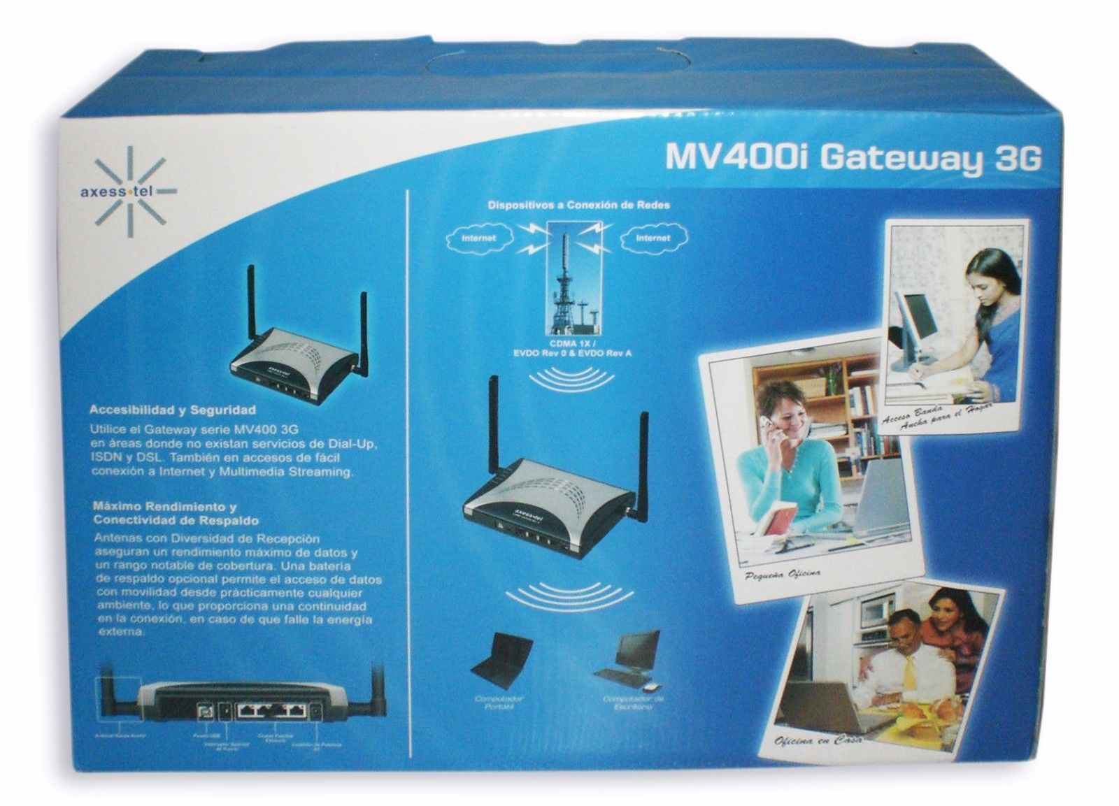 Axess-Tel Gateway 3G MV400i Router CDMA and 49 similar items