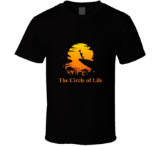 The Circle Of Life The Lion King Movie Tshirt Simba Rafiki Pride Rock T ... - $19.99+