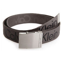 New Calvin Klein Men's Premium CK Logo Cotton Adjustable 38mm Canvas Belt 73545 image 11
