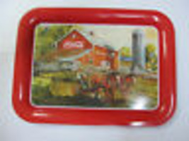 "Coca Cola ""Middle Creek Farm"" Metal TV Tray - BRAND NEW - $13.37"