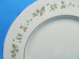 Lenox China Brookdale Pattern White Flowers Green Leaves Discontinued Pa... - $12.09