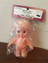 Fibre Craft IMPKINS DOLL 5.5 Inches #3319 Blonde Hair Blue Eyes - $5.00