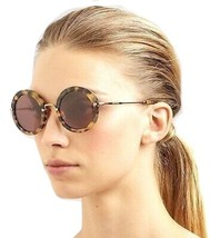 Authentic Miu Miu SMU13N 7SO Havana Round Sunglasses  - $180.00