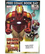 Iron Man Thor #1 NM John Romita Jr Free Comic Book Day FCBD 2010 Marvel  - $5.99