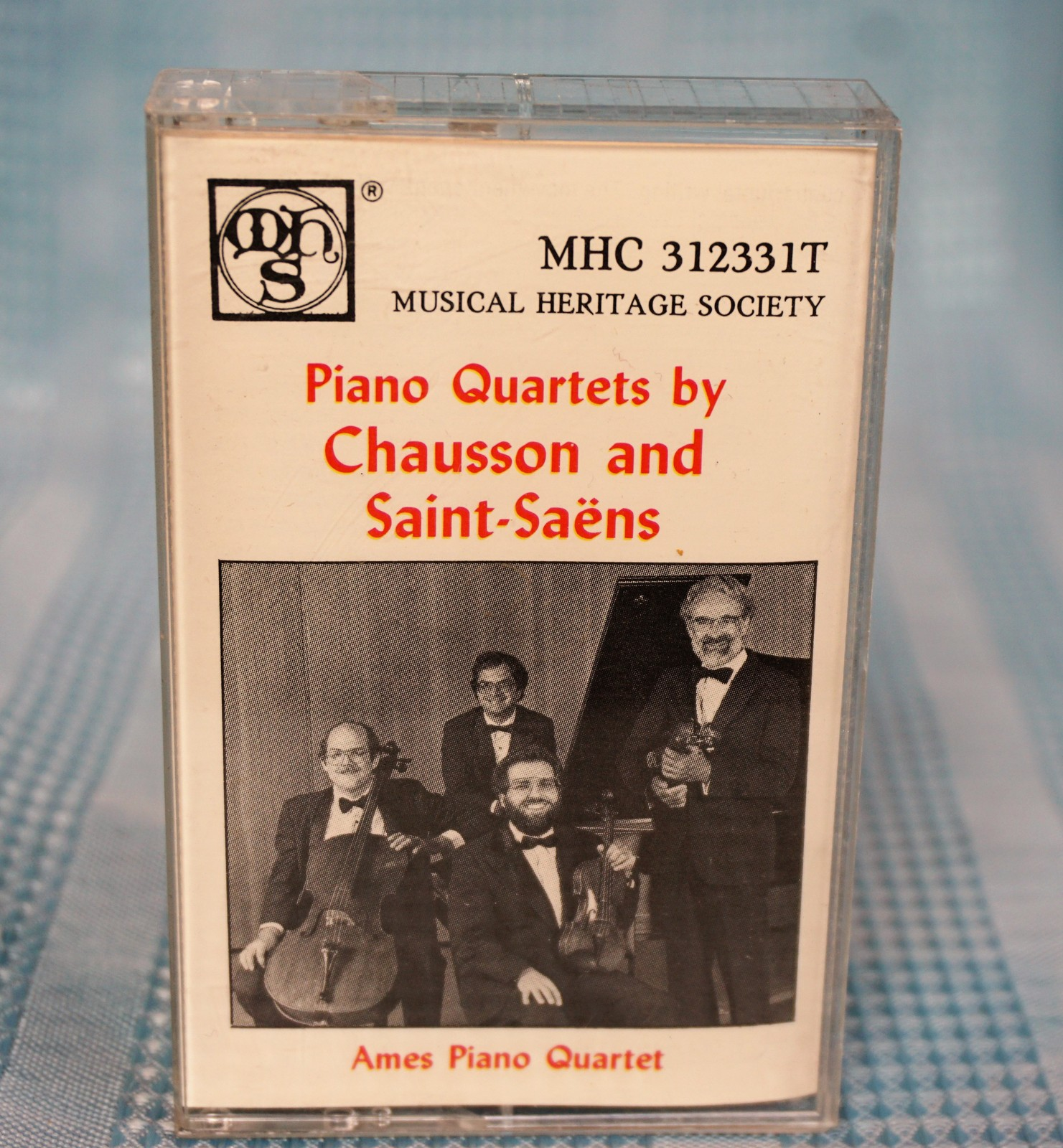 "Primary image for Musical Heritage Society  ""Piano Quartets by Chausson and Saint-Saens"" Cassette"