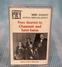 """Musical Heritage Society """"Piano Quartets by Chausson and Saint-Saens"""" C... - $14.02"""