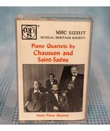 "Musical Heritage Society  ""Piano Quartets by Chausson and Saint-Saens"" C... - $14.02"