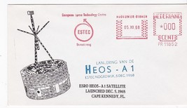 HEOS-A1 ESRO SATELLITE LAUNCHED NETHERLANDS DECEMBER 5 1968 - $1.98