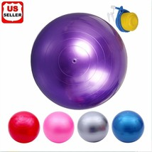 Pilates and Balance Training Anti-burst & Slip Exercise Yoga Ball - £12.37 GBP