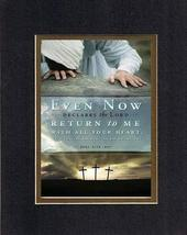 Even Now, Declares the Lord 8 x 10 Inches Biblical/Religious Verses set ... - $11.14