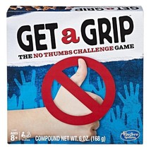 Get a Grip Game The No Thumbs Challenge Game by Hasbro Fun w - $12.99