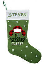 Clark Christmas Stocking, Personalized National Lampoons Christmas Stocking - $29.99