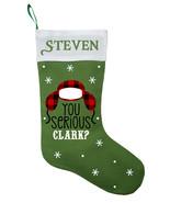 Clark Christmas Stocking, Personalized National Lampoons Christmas Stocking - $29.99