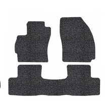All Weather Custom Carpet 4 Pieces Broadfeet Custom Floor Liners for 2014-2016 Jeep Wrangler Unlimited Black /& Red