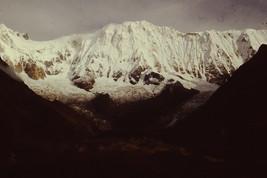 35mm Slide Annapurna Sanctuary Beautiful Snow Covered Mountains Nepal (#... - $4.75
