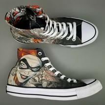 Converse CTAS x Harley Quinn DC Comics High Top Shoes Womens SZ 9 Chucks... - $56.09