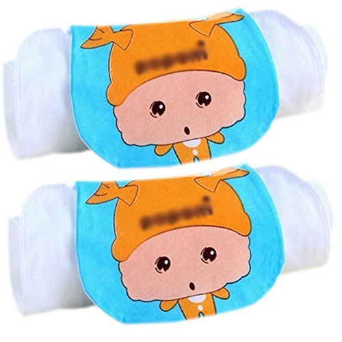 Lovely [Pisces] Cotton Gauze Towel Wipe Sweat Absorbent Cloth Mat Towels 2 Pcs