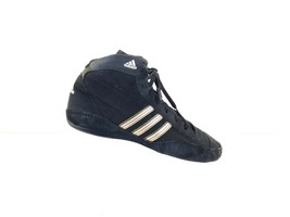 Adidas Wrestling Shoes Men's Ape 779001 Black Red Gold Lace Up Boot Size 10 - $35.27