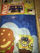 Nickelodeon Spongebob Squarepants Window Valance 84 x 15 in Hamburger Dr... - $12.60