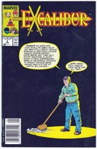 """Excalibur #4 January 1989 """"Still Crazy After All These Years"""" - $4.95"""