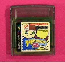 Pop'n Music GB (Nintendo Game Boy Color GBC, 2000) Japan Import - $11.19