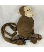 Eddie Bauer Monkey Plush Child's Safety Harness Stuffed Animal - $6.85