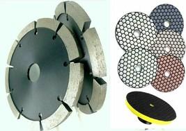 "7"" Diamond Tuck Point Blade Dry Polish Pad Mortar Removal Groove concret... - $122.75"