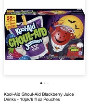 New Ghoul-Aid Scary Berry Rare Kool-Aid Jammers! Scary Berry! 2 Boxes - $21.77