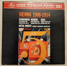 Living Presence Stereo Vienna 1908-1914 Dorati Mercury Record SR90316 LP... - $39.59