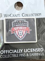 Washington SPIRIT FC 2021 NWSL National Women's Soccer League Logo Pin - $16.95
