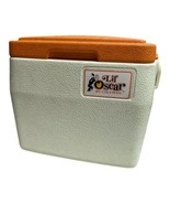 """VINTAGE Lil Oscar Cooler Ice Chest Lunch Box 5272 By Coleman  Orange 1980""""s - $24.74"""
