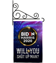 Will you Shut Up Man - Impressions Decorative Metal Fansy Wall Bracket G... - $27.97